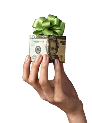 Monday's Audio Podcast – Let's Talk About Gift Money