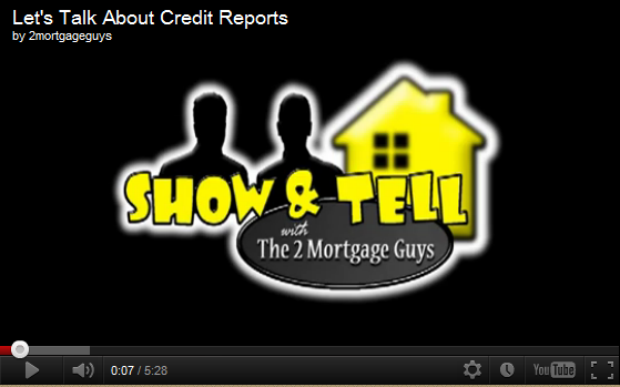 Friday's Video – Let's Talk About Credit Reports