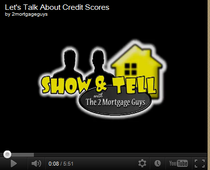 Friday's Video – Let's Talk About Credit Scores