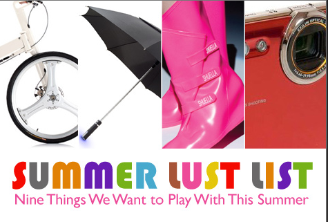 Wednesday's Web Link – 9 Things we want to play with this summer!