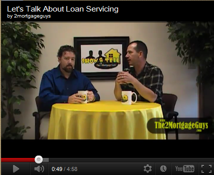 Friday's Video – Let's Talk About Loan Servicing