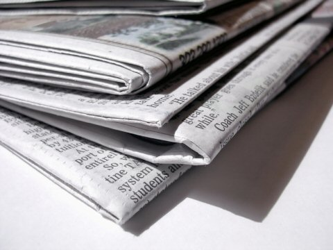 Tuesday's Tip – How to combat weeds with your newspaper!