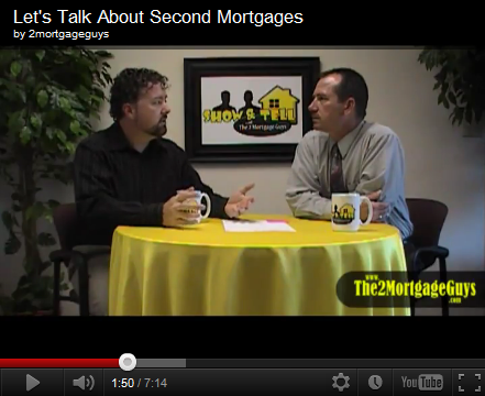 Friday's Video – Let's Talk About Second Mortgages