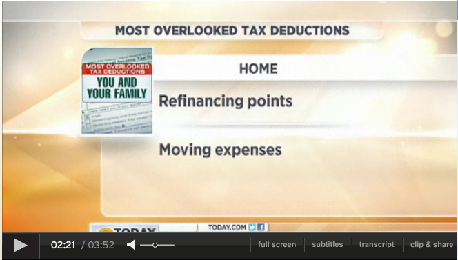 4 Tax Deductions You've Probably Overlooked