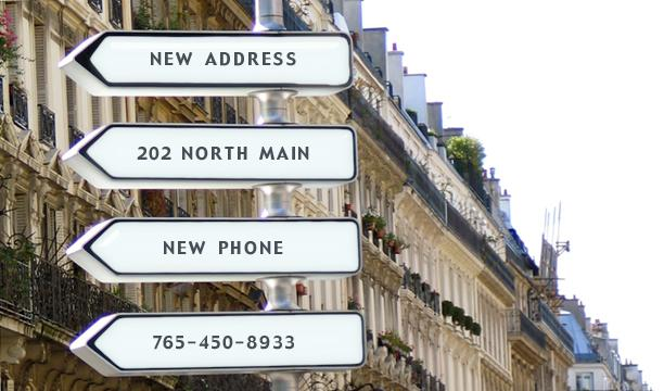 We've Got A New Address… How About A New Phone Number!?